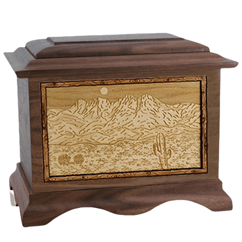 Four Peaks Walnut Cremation Urn