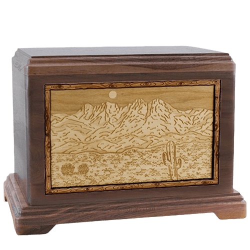 Four Peaks Walnut Hampton Cremation Urn