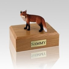 Fox Small Cremation Urn
