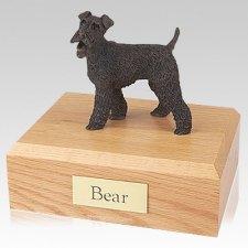 Fox Terrier Bronze X Large Dog Urn