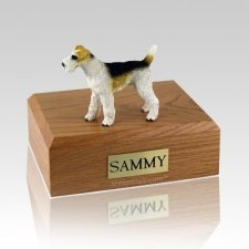Fox Terrier  Wire Haired Dog Urns