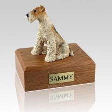 Fox Terrier Dog Urns