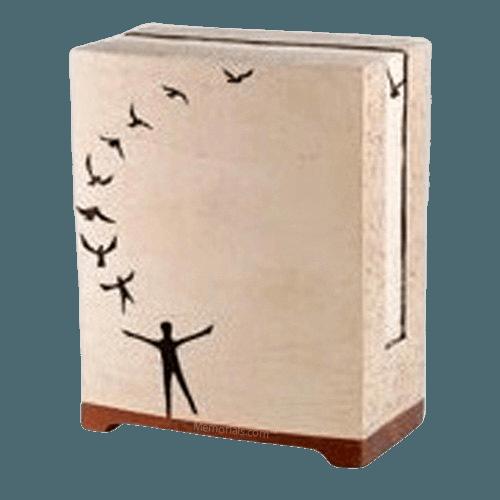 Free Spirit Stone Cremation Urn