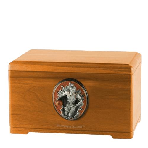 Free Throw Oak Cremation Urn