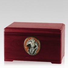 Free Throw Rosewood Cremation Urn