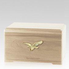 Freedom Maple Cremation Urn