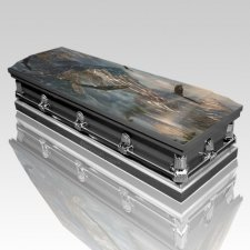 Freedom Wings Casket
