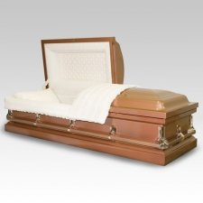 Freeport Copper Metal Casket