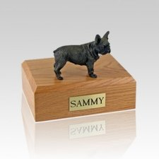 French Bull Large Dog Urn