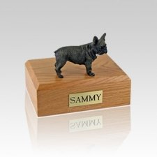 French Bull Medium Dog Urn
