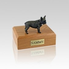 French Bull Small Dog Urn