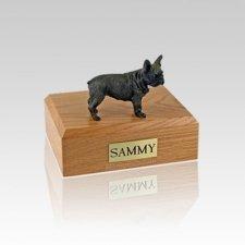 French Bull Small Dog Urn