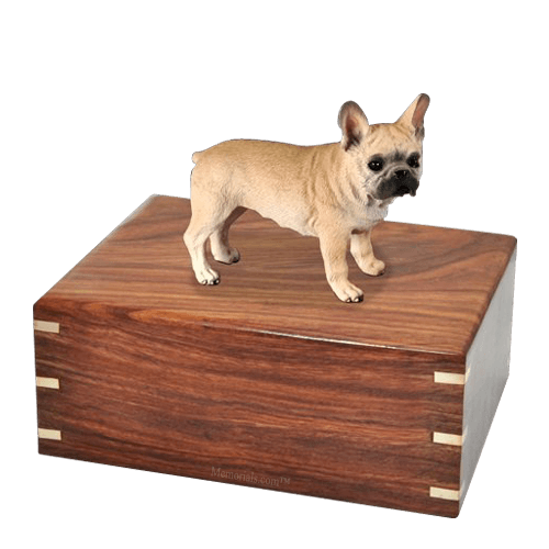 Frenchie Large Doggy Urn