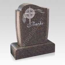 Fruit of Life Companion Granite Headstone