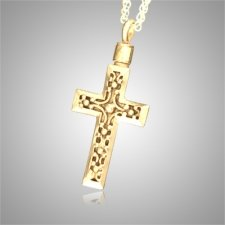 Cross Filigree Cremation Jewelry II