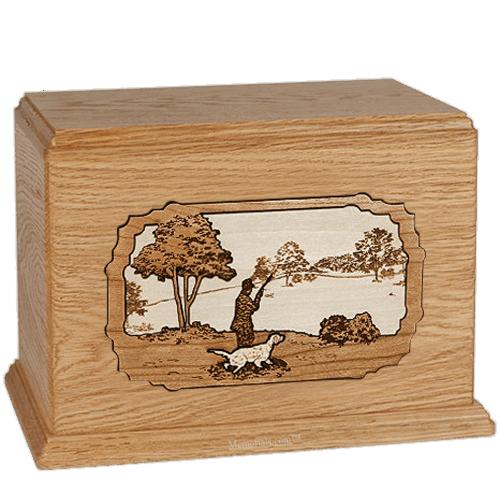 Gardening Oak Companion Urn