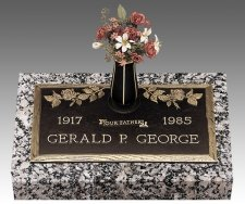 Individual Bronze Grave Markers