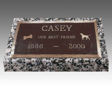 Rectangle Pet Headstones