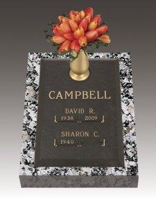 Companion Deep Bronze Grave Markers