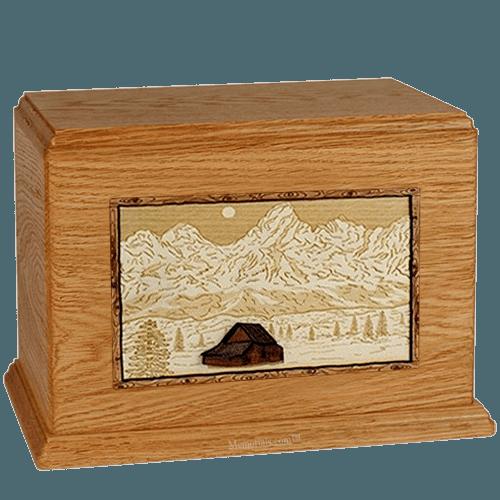 Grand Tetons  Mahogany Companion Urn