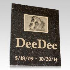 Galaxy Memorial Pet Grave Stone