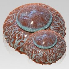 Garden Ivy Ceramic Cremation Urns