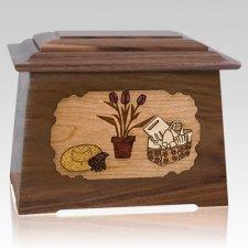 Gardening Walnut Aristocrat Cremation Urn