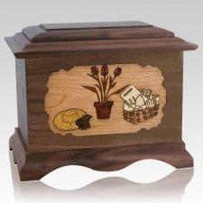Gardening Wood Cremation Urns