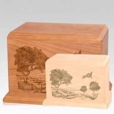 Geese Wood Urns