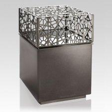 Geome Metal Cremation Urn