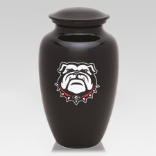 Georgia Bulldogs Football Cremation Urn