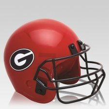 Georgia Bulldogs Football Helmet Urn