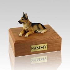 German Shepherd Large Dog Urn