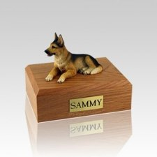German Shepherd Small Dog Urn