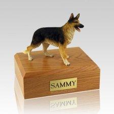German Shepherd Standing Large Dog Urn