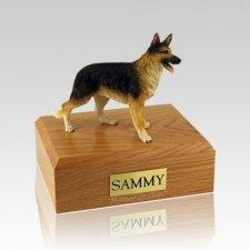 German Shepherd Standing Medium Dog Urn