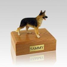 German Shepherd Standing Small Dog Urn