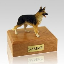 German Shepherd Standing Dog Urns