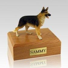 German Shepherd Standing X Large Dog Urn