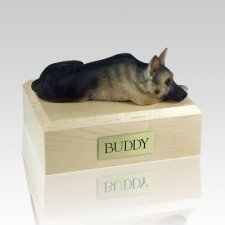 German Shepherd Tan & Black Dog Urns