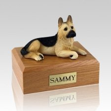 German Shepherd Tan X Large Dog Urn