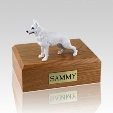German Shepherd White Dog Urns