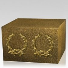 Gilded Companion Cremation Urn