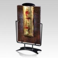 Gilded Keepsake Cremation Urn