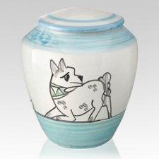 Giocoso Ceramic Dog Urn