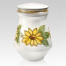 Girasol Ceramic Cremation Urn