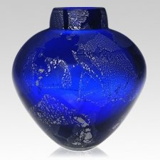 Glacial Glass Cremation Urn