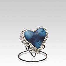 Glacier Heart Keepsake Urn
