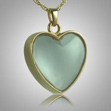 Heart Glass Memorial Jewelry II