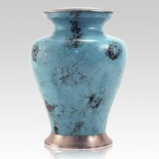 Glenwood Blue Cremation Urn